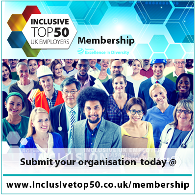 Inclusive Top 50 UK Employers Membership